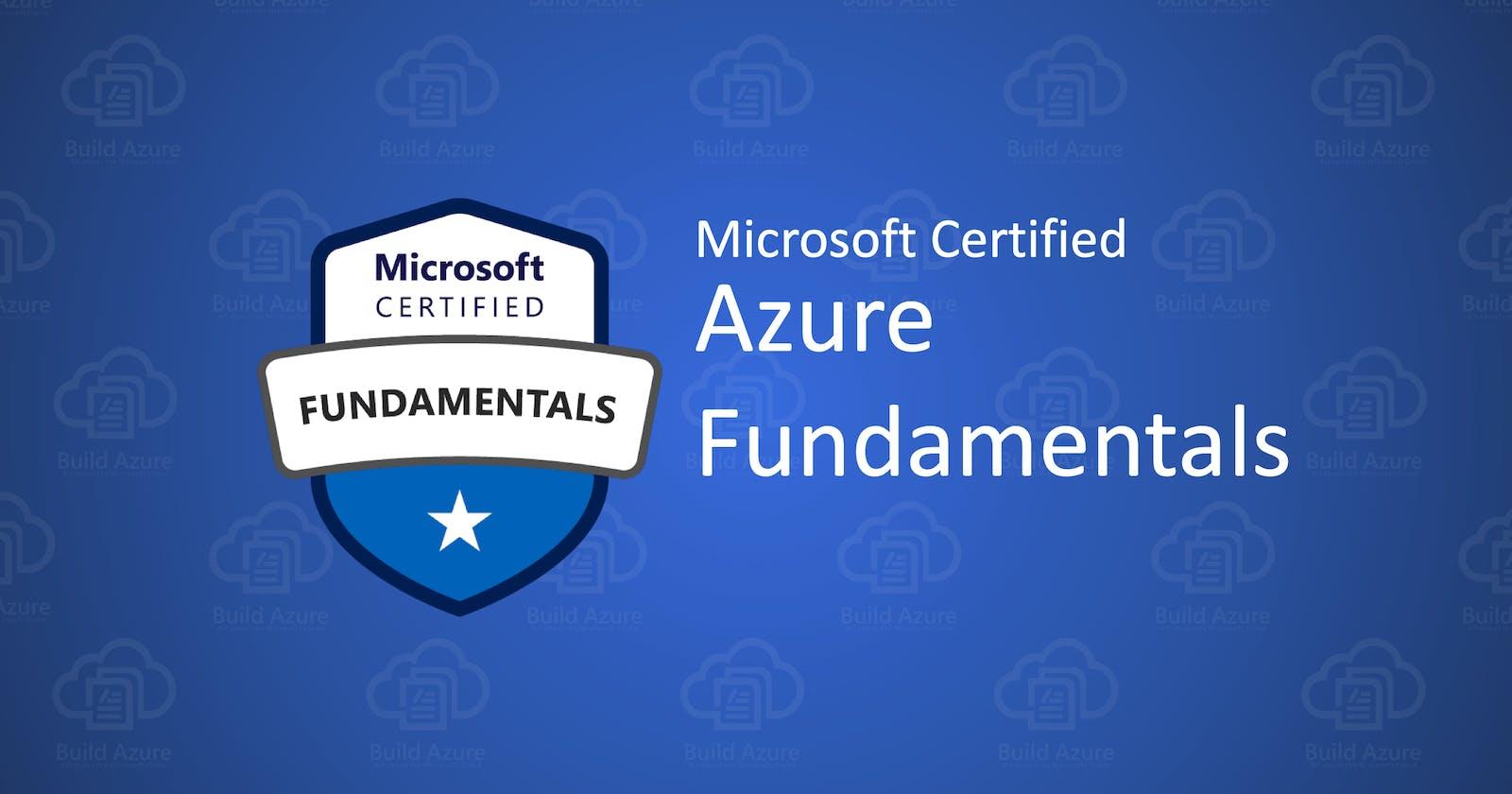 Points to remember - Azure AZ900 Fundamentals