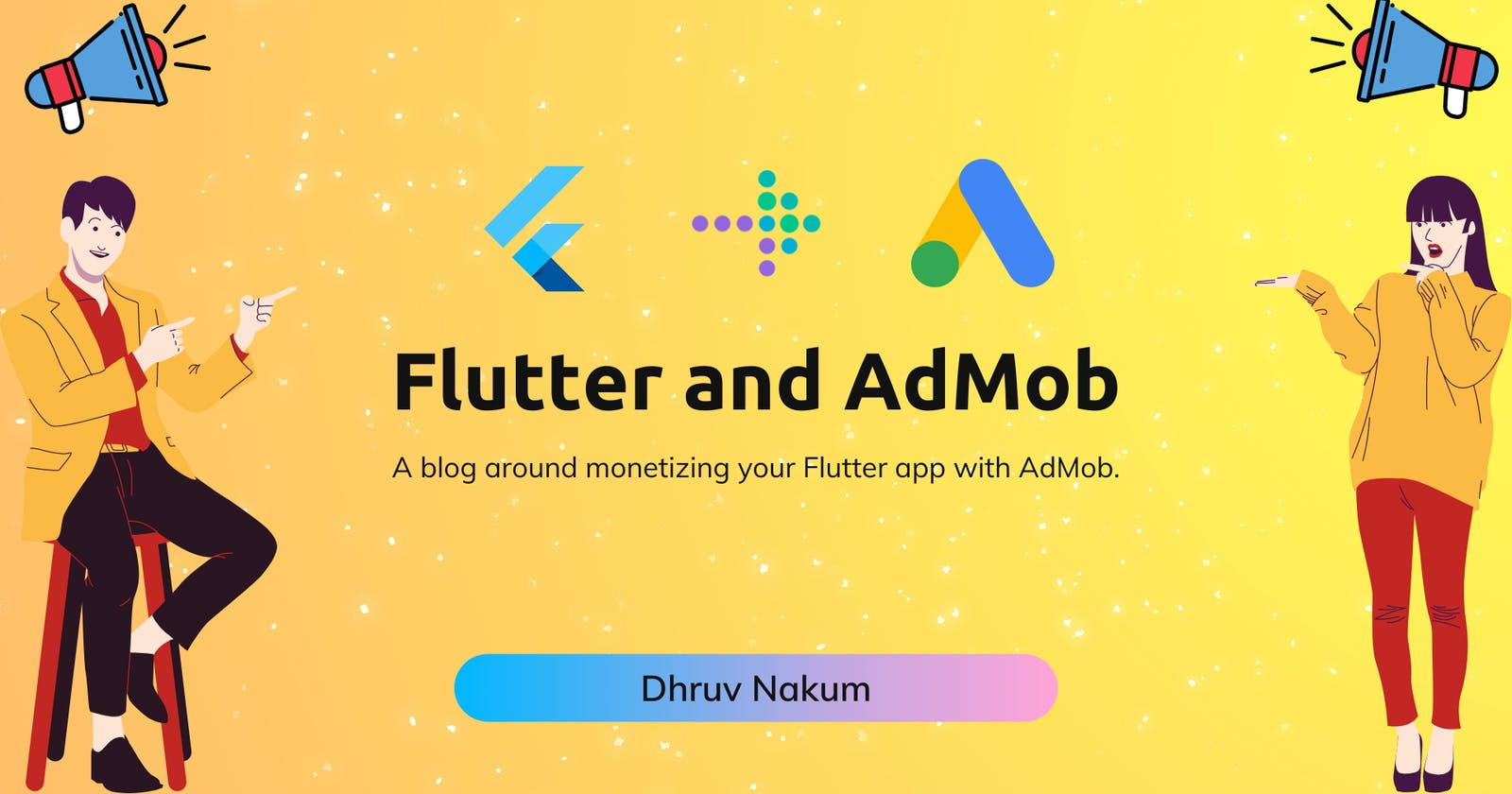Flutter and AdMob: A blog around monetizing your Flutter app with AdMob.