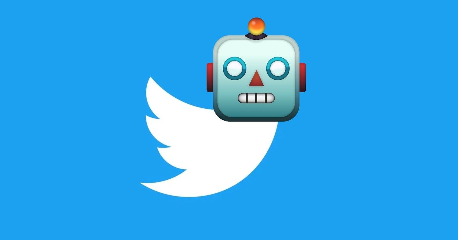 Twitter tweet bot using GitHub Actions
