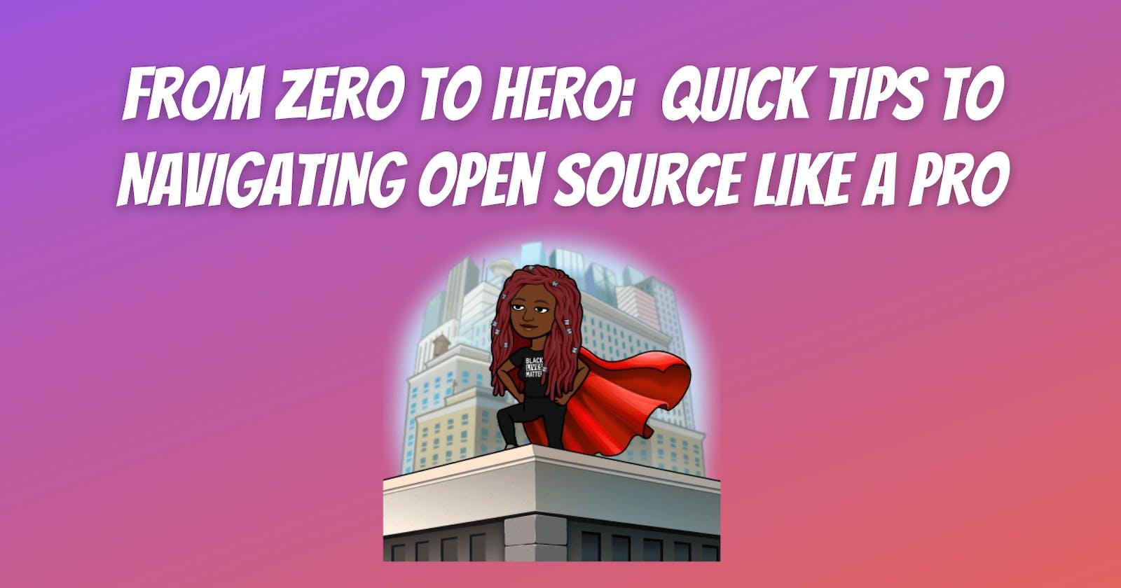 From Zero to Hero