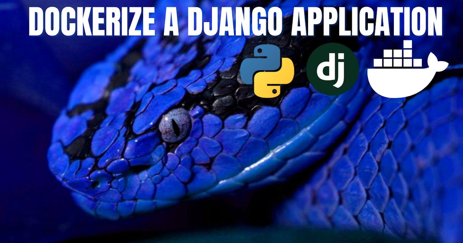 Dockerize a Django Application