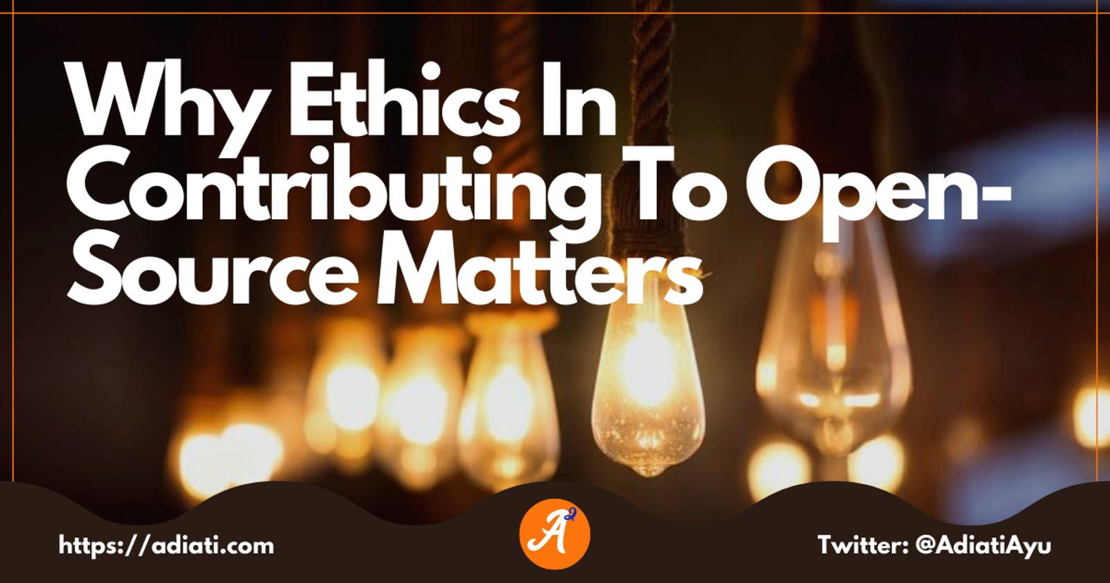 Why Ethics In Contributing To Open-Source Matters