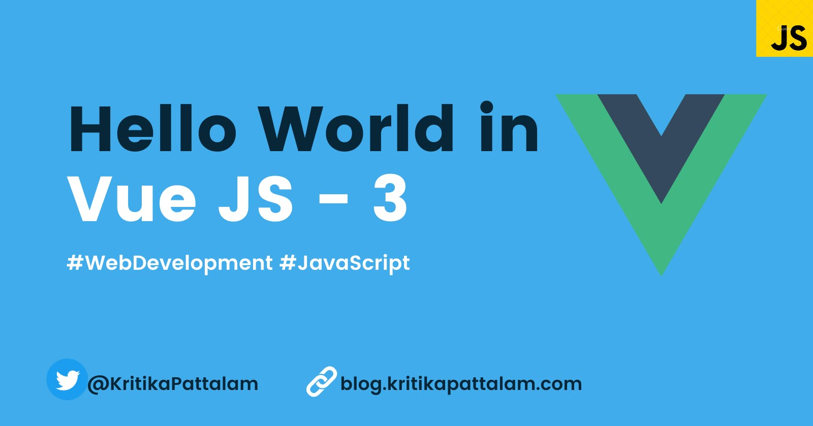 First Step to Learning Vue JS - 3