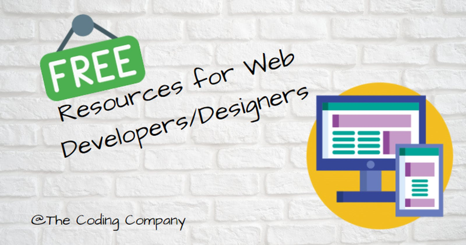 20+ Free Resources for Web Developers/Designers