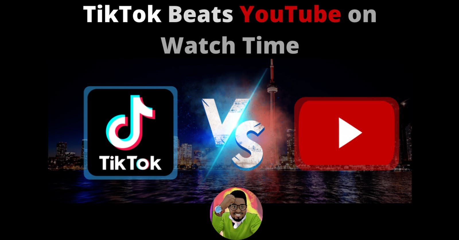 TikTok Beats YouTube on Watch Time