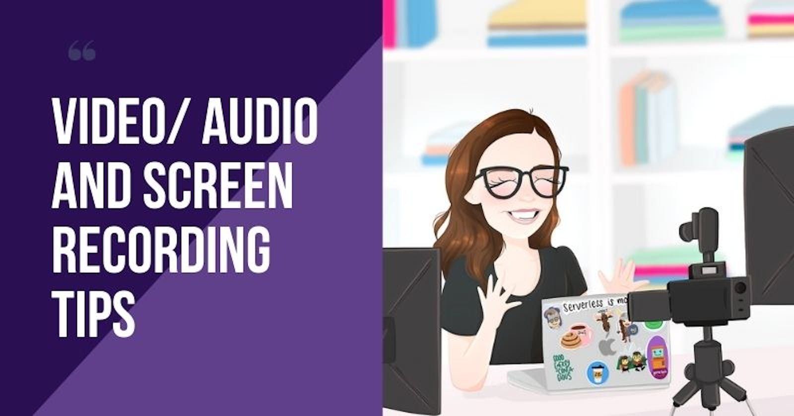 Tips to improve Audio, Video and Screen share for your presentations