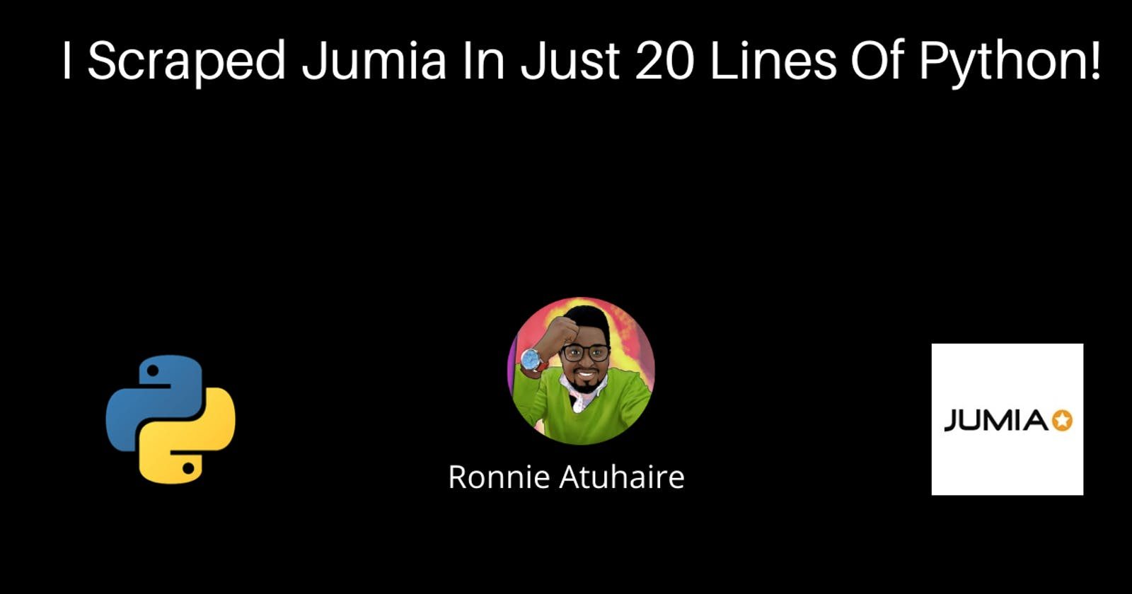 I Scraped Jumia In Just 20 Lines Of Python!