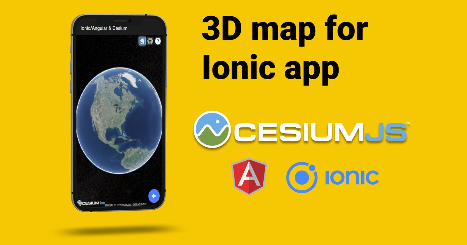 3D map for your Ionic app