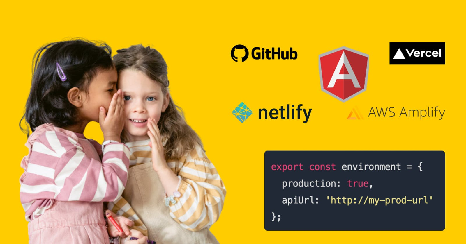 How to keep your secrets from your source code in an Angular project ?! 🤫