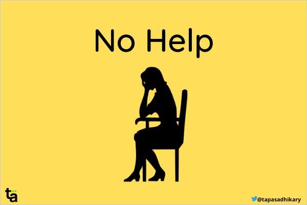 No Help Image