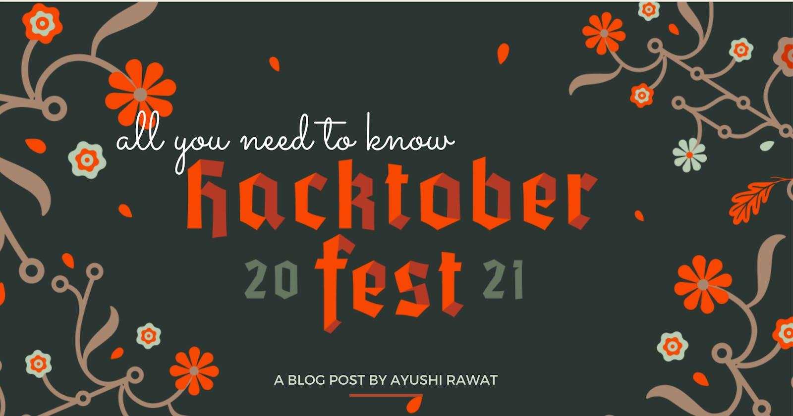 Beginner's guide to Hacktoberfest 2021