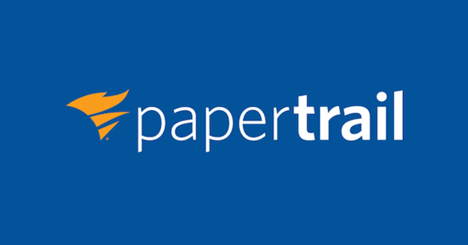 Log monitoring with papertrail in Laravel