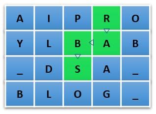 matrix word search