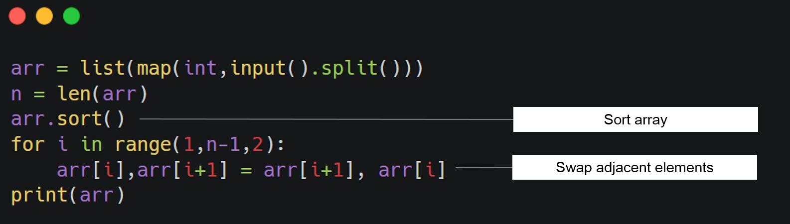wave array code