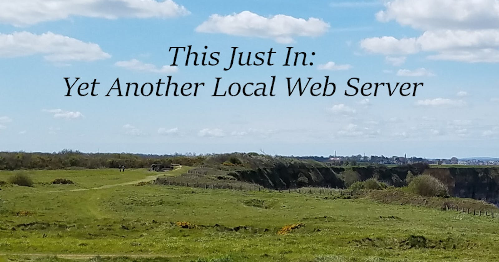 This Just In: Yet Another Local Web Server