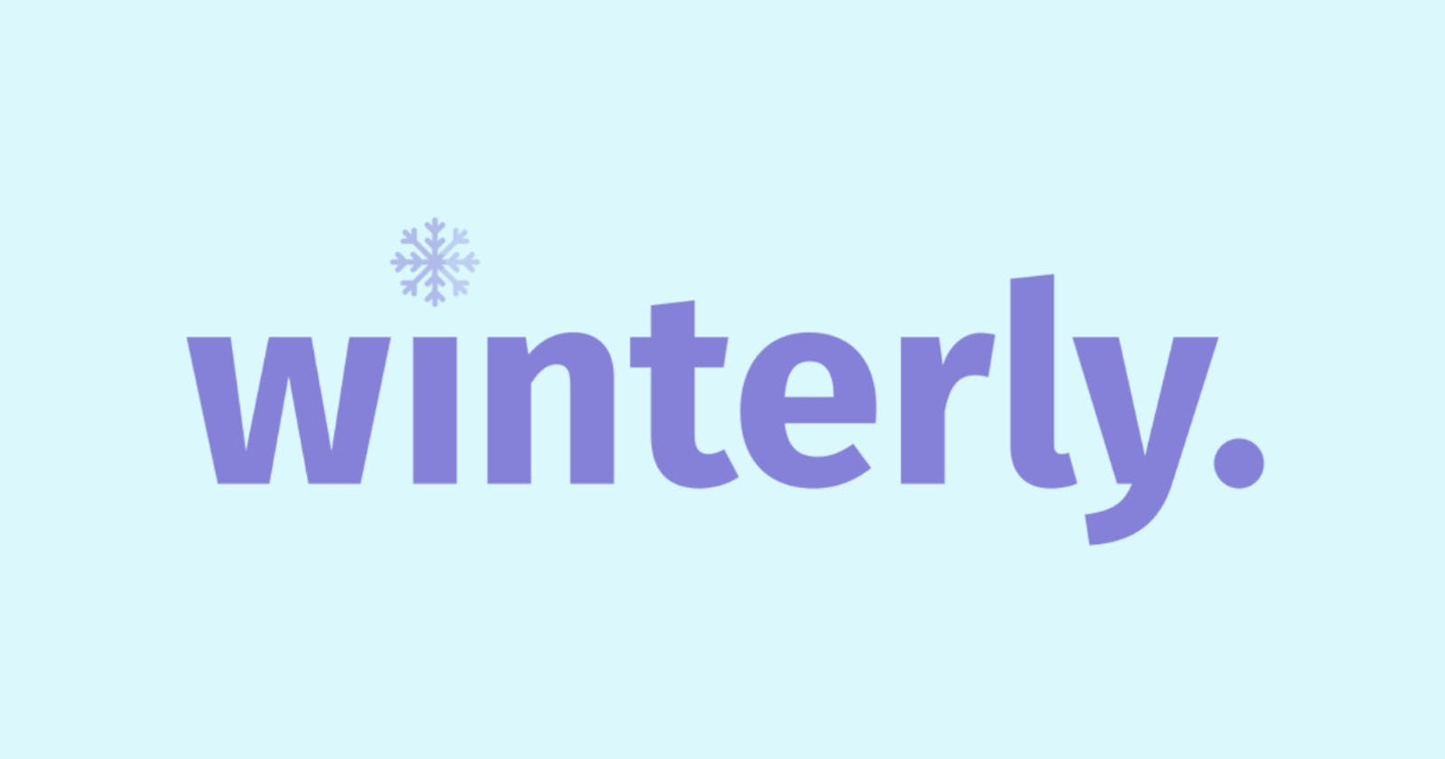 Introducing ❄️ Winterly Tab ❄️: A Beautiful & Open Source New-Tab Replacement For Your Browser