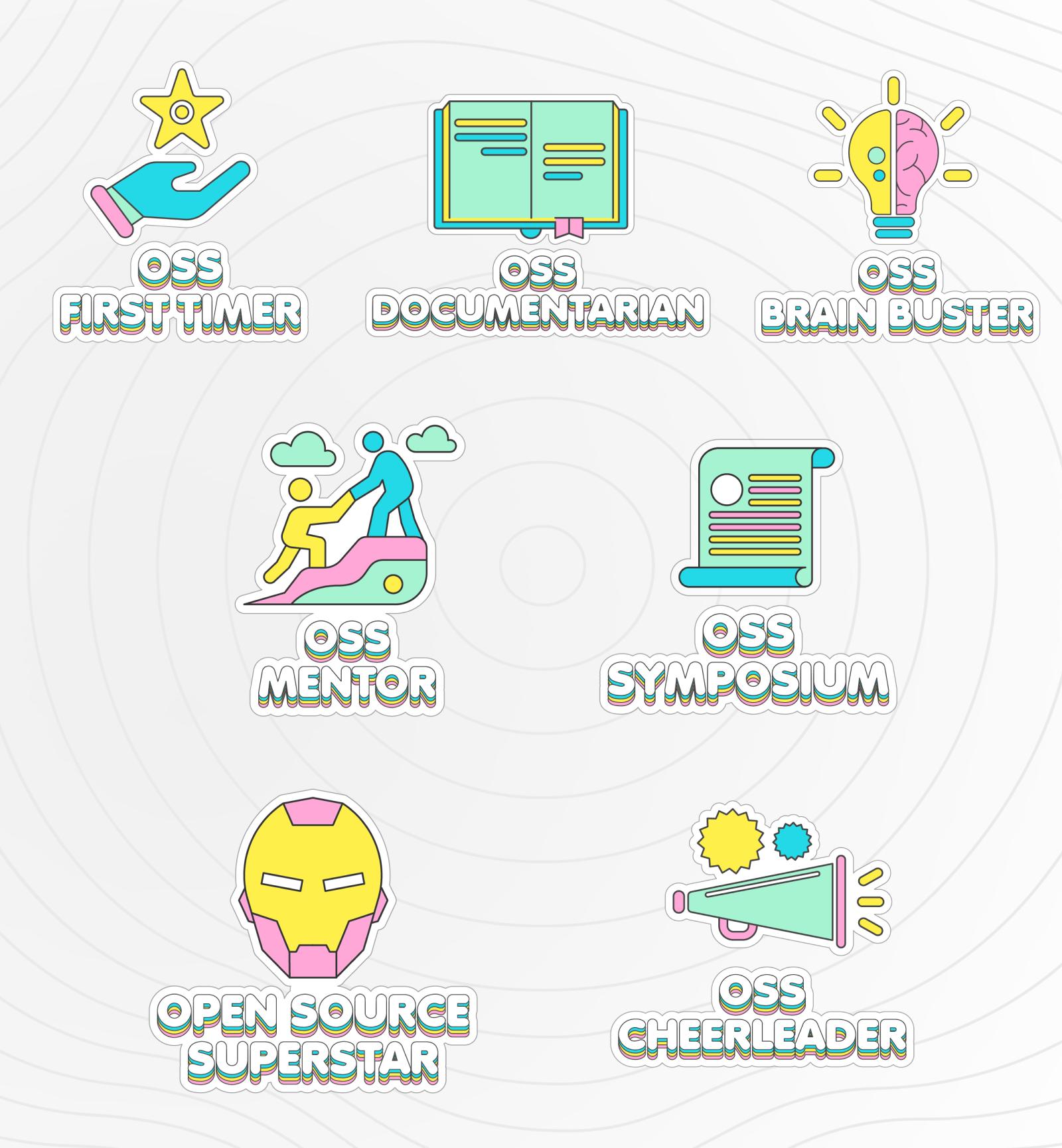 Hashnode Open Source Badges