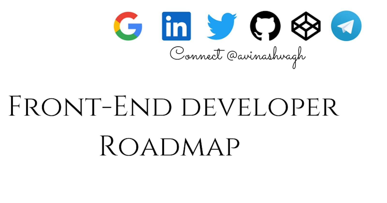 Best FrontEnd Developer Roadmap !