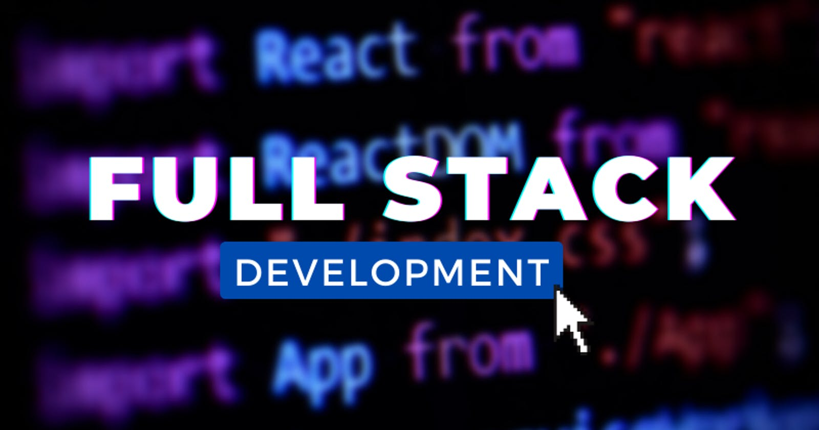 I Learn Full Stack Development Again