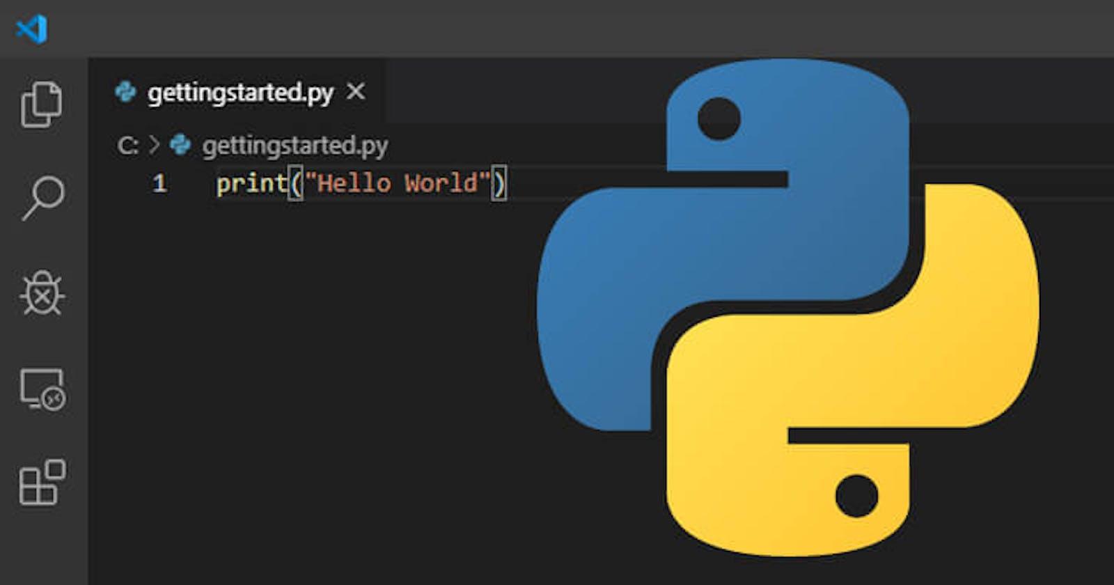 Python String 101