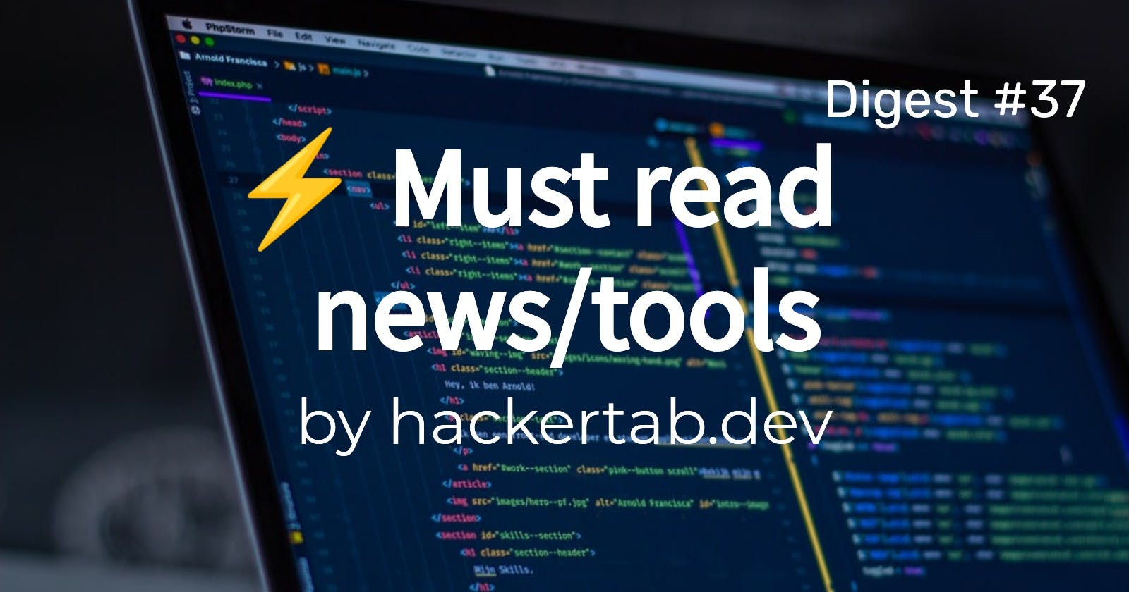 🔥 Trending News, Repos and Products of the day - Digest #37