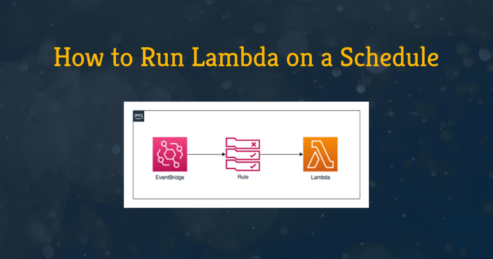 How to Run Lambda on a Schedule