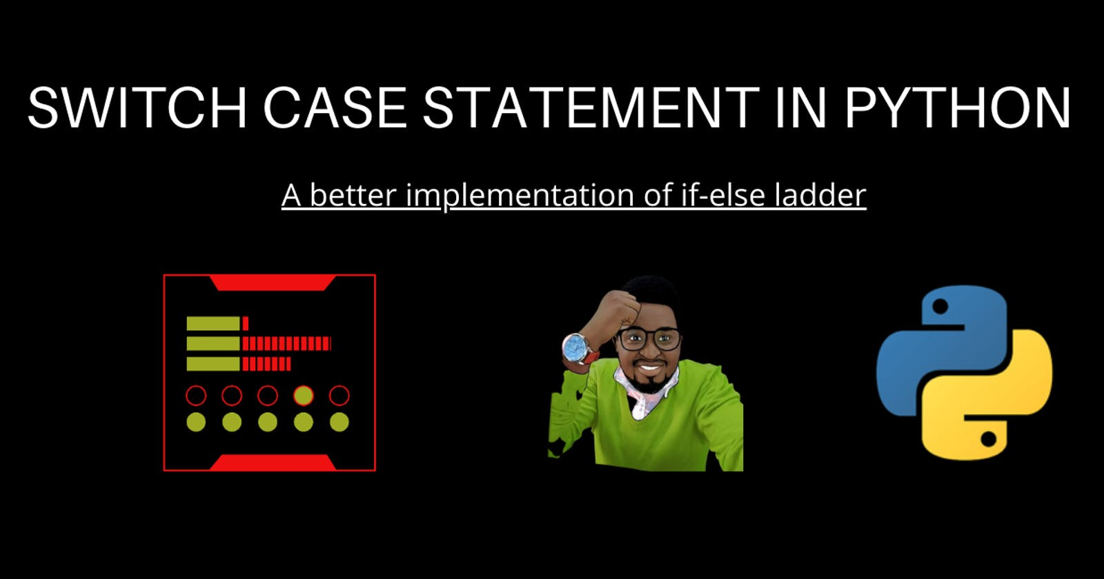 Implementing Switch Case In Python
