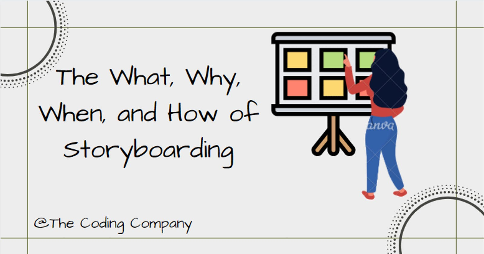 The What, Why, When, and How of Storyboarding