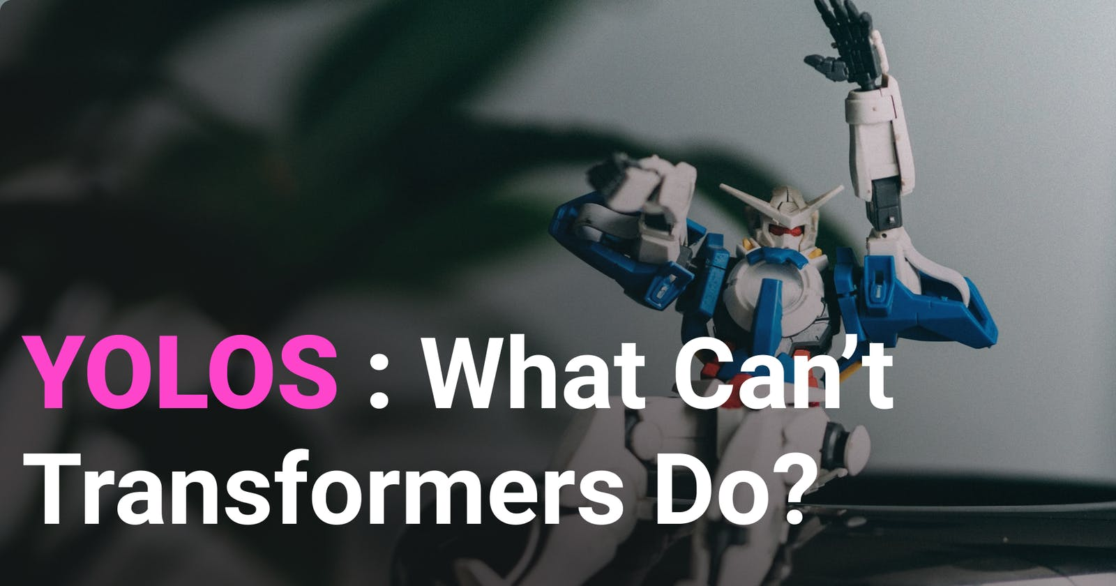 You Only Look at One Sequence(YOLOS): What Can't Transformers Do?